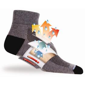 Wrightsock Coolmesh II Low Tab Socks White